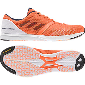adidas Adizero Takumi Sen Buty Low-Cut Mężczyźni, footwear white/real blue/solar orange